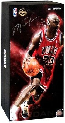 $694.98 • Buy NBA Masterpiece Michael Jordan Collectible Figure #23 [Red Uniform Road Edition]