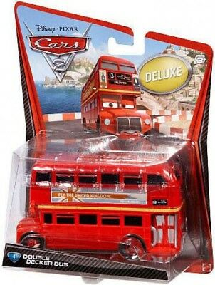 $ CDN62.51 • Buy Disney Cars Cars 2 Deluxe Oversized Double Decker Bus Diecast Car #4