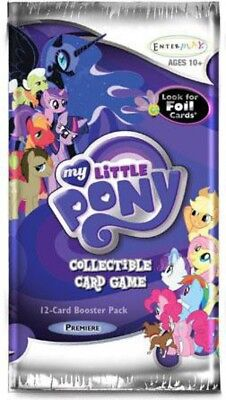 My Little Pony Collectible Card Game Premiere Booster Pack • 2.47£