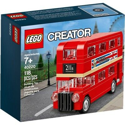 $ CDN35.71 • Buy LEGO Creator Double Decker London Bus Set #40220