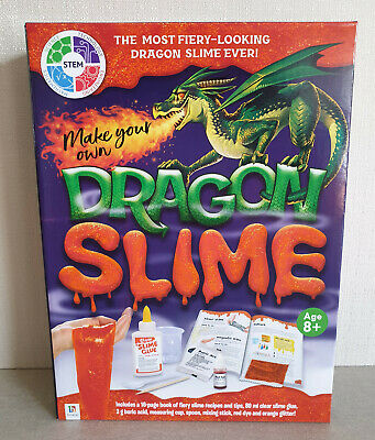 AU16.95 • Buy Brand New In Box Hinkler Brand Make You Own Dragon Slime Kit Ages 8+ Years