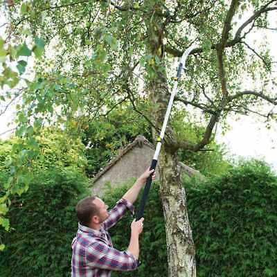£28.27 • Buy Extendable Pruning Saw 1.5 - 2.5m Tree Branch Cutting Saw Pruner Telescopic Pole