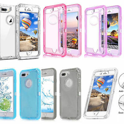 AU15.62 • Buy IPhone X XS Max 6 7 8 Plus 11 Pro Defender Shockproof 3 In 1 Case Cover + Clip