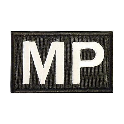 $7.95 • Buy MP Military Police Morale Army Tactical Embroidered Brassard Sew Iron On Patch