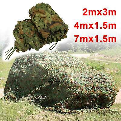 £19.89 • Buy Camouflage Netting Camo Net UK Hunting Shooting Camping Army Green Hide Cover UK