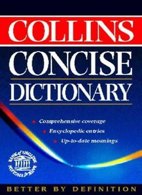 £3.68 • Buy Collins Concise English Dictionary-Jackie Collins