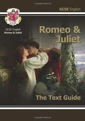 £2.59 • Buy GCSE English Shakespeare Text Guide - Romeo And Juliet-CGP Books