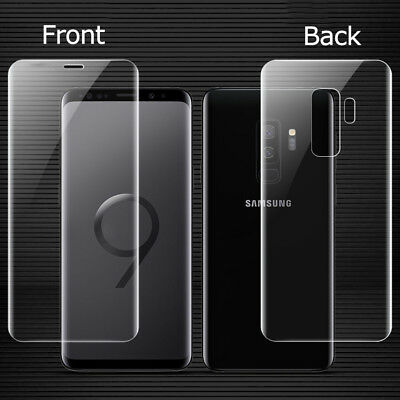 $ CDN2.51 • Buy For Samsung Galaxy S9 Plus Front+Back Tempered Glass Screen Protector Real Cover