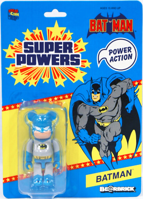 $59.98 • Buy 2012 Sdcc Dc Batman 100% Bearbrick Figure Medicom Grey Super Powers New Sealed