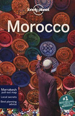 Lonely Planet Morocco (Travel Guide)-Lonely Planet, Paul Clammer, James Bainbri • 4.09£