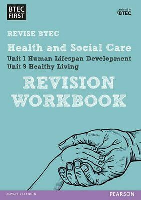 £3.72 • Buy BTEC First In Health And Social Care Revision Workbook: Revision Workbook (BT.