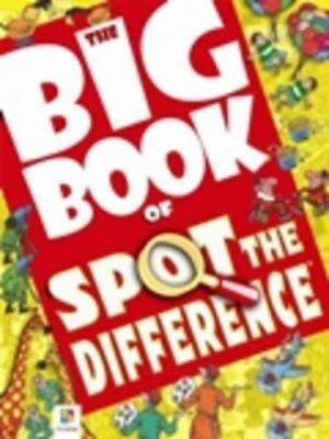 £4.17 • Buy Big Book Of Spot The Difference (Big Book Of Series)-