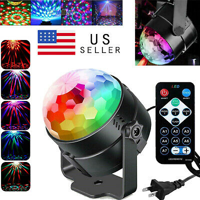 Disco Party Lights Strobe Led Dj Ball Sound Activated Bulb Dance Lamp Decoration • 8.95$