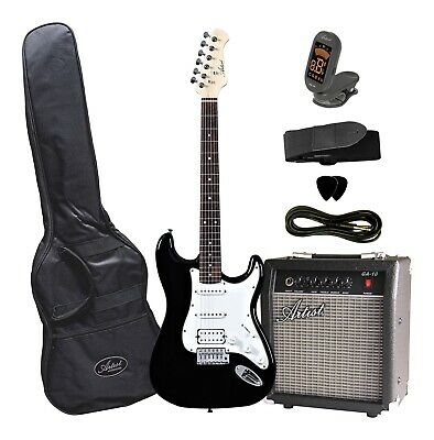 AU249 • Buy STHPK Electric Guitar With Amp And Accessories - Black