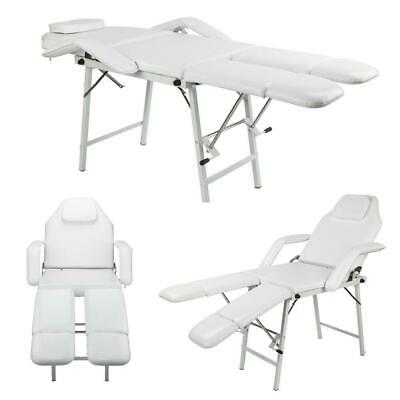 $129.90 • Buy 75  Portable Tattoo Parlor Spa Salon Facial Bed Beauty Massage Table Chair White