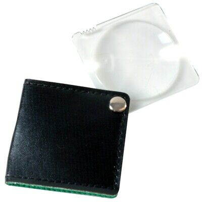 £3.77 • Buy FOLD AWAY MAGNIFIER Travel Pocket Sized Small Magnifying Glass Reading Text Book