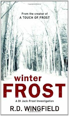 Winter Frost: (DI Jack Frost Book 5)-R D Wingfield • 3.70£