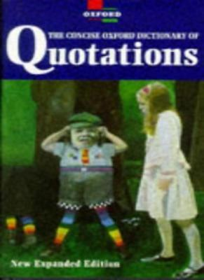 £3.39 • Buy The Concise Oxford Dictionary Of Quotations-Angela Partington
