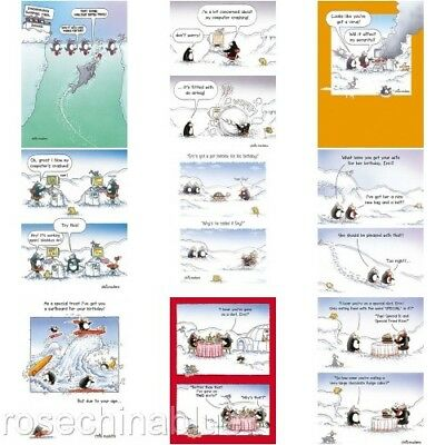 Funny Humour Eric The Penguin Birthday Card  • 2.99£