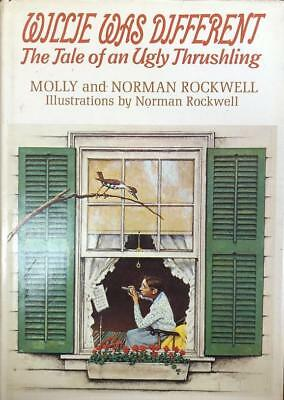 $ CDN313.29 • Buy Norman Rockwell- Signed Hardbound Book;  Willie Was Different