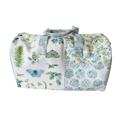 £19.79 • Buy Large Canvas Butterfly And Floral Print Holdall Bag, Suitable For Travel