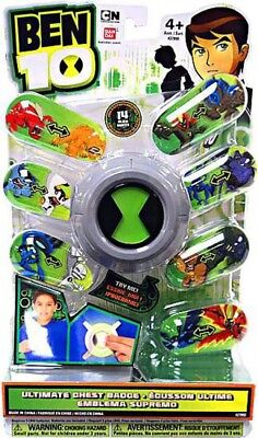 Ben 10 Ultimate Chest Badge Roleplay Toy • 301.95£