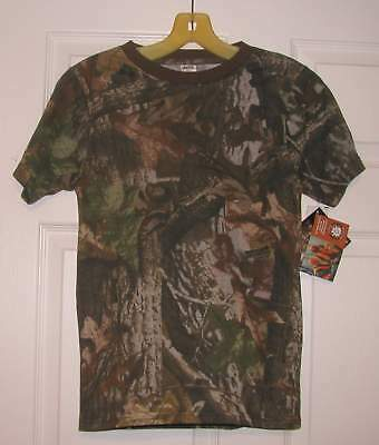 £7.32 • Buy Advantage Timber Liberty Youth Kids Large 14/16 Camo T-shirt   New With Tags