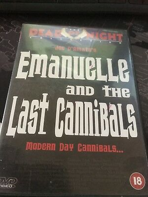 Emanuelle And The Last Cannibals DVD Joe D'Amato Dead Of Night Collection  • 9.95£