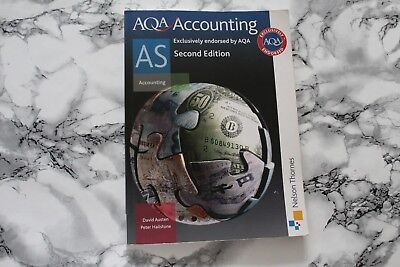£6 • Buy AQA Accounting AS By Peter Hailstone, David Austen (Paperback, 2012)