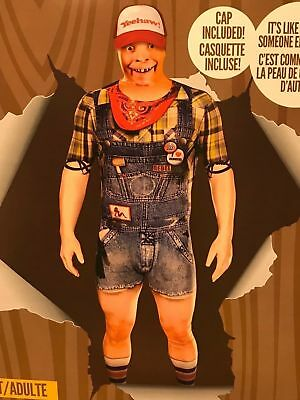 £37.52 • Buy Original Morphsuits Hillbilly Faux Real Suit Adult Character Morphsuit