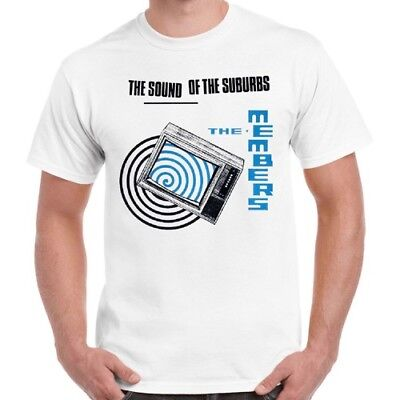 £5.99 • Buy The Members Sound Of The Suburbs 70s Punk Retro T Shirt 1255