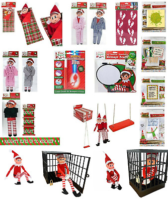 £2.35 • Buy Elf Accessories Props Stock On The Shelf Ideas Kit Christmas Games Clothes Dolls
