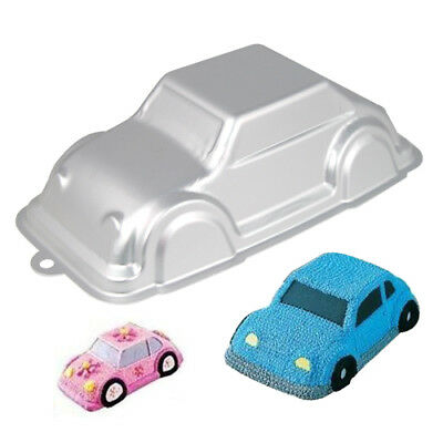 Birthday Cake Car Tin Cruiser Automobile VW Beetle 3D Decorating Pan Mould Gift • 8.99£