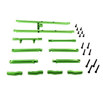 AU108.89 • Buy Traxxas X-Maxx Alloy Chassis Top Brace, Green By Atomik RC - TRX 7714X
