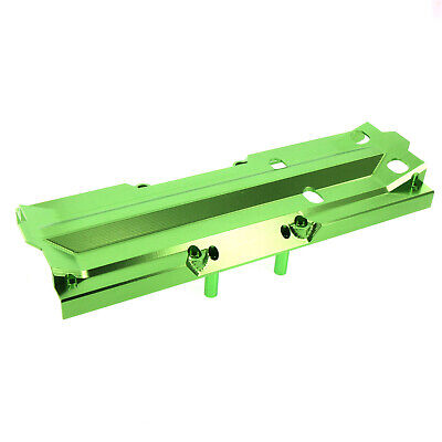 AU93.13 • Buy Traxxas X-Maxx Alloy Center Skid Plate, Green By Atomik RC - TRX 7745