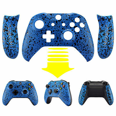 $17.33 • Buy Textured Blue Facepalte Upper Shell W/ Side Rails For Xbox One S X Controller