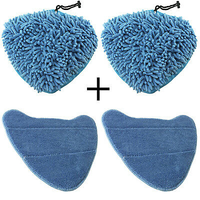 Cover Pads For VAX Steam Cleaner Mop S86-SF-B S86-SF-C S86-SF-P S86-SF-T X 4 • 13.59£