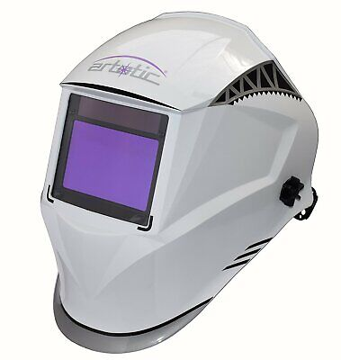 $ CDN99.97 • Buy WFF 4-sensors Auto Darkening Welding/Grinding Helmet DIN 4-13 True Color