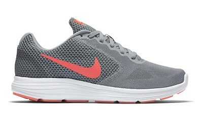 7dfc2790501 New Women s Nike Revolution 3 Running Shoes!!! In Gray And Orange!