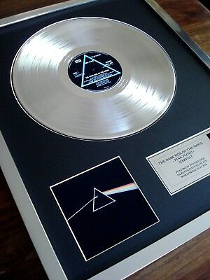 £129.99 • Buy Pink Floyd The Dark Side Of The Moon Lp Platinum Plated Disc Record Award Album