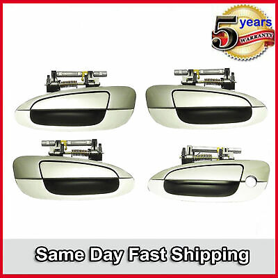$54.86 • Buy Outside Door Handle 4PCS Front & Rear For 2002-06 Nissan Altima Flash Green J40