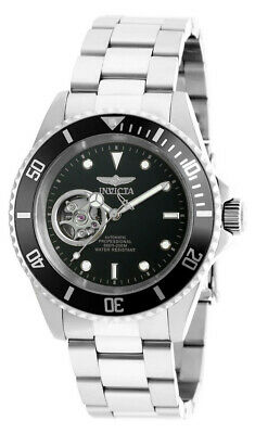View Details Invicta 20433 Men's Round Black Automatic Analog Stainless Steel Watch • 79.99$