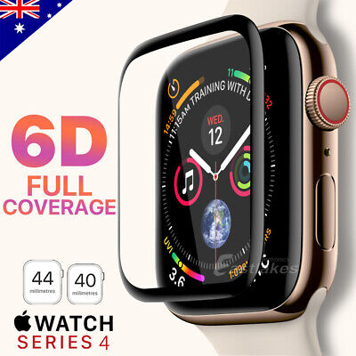 AU6.95 • Buy For Apple Watch IWatch 6 5 4 SE 44 &40 Mm Tempered Glass FULL Screen Protector