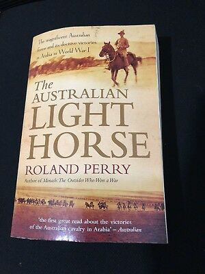 AU20 • Buy The Australian Light Horse By Roland Perry - Paperback