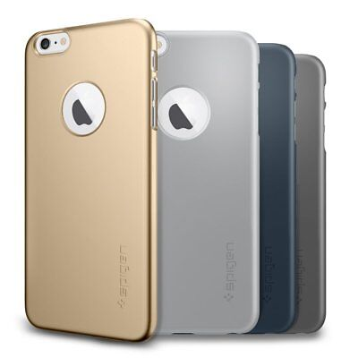 AU4.95 • Buy Genuine Spigen Thin Fit A Matte Slim Back Case Cover IPhone 6 6 Plus 6s 6s Plus