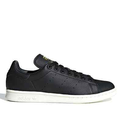 AU69.95 • Buy Adidas Originals Stan Smith Premium Mens Skate Shoes Black Leather - Size US 5