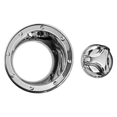 $116.03 • Buy For Hummer H3 2006-2010 Zunden Chrome Gas Cap Cover