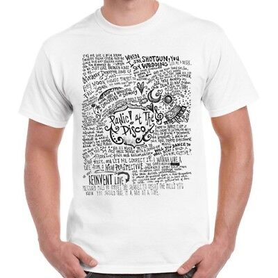 Panic At The Disco Band Music Cool Vintage Retro T Shirt 1072 • 5.95£