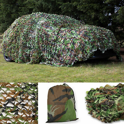 Camo Net Camouflage Netting Hunting/Shooting Hide With Carry Bag By Nitehawk • 9.99£