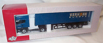 Scania R 40FT Container Verhoek Europe 1-50 New In Box  704/02 • 74.95£